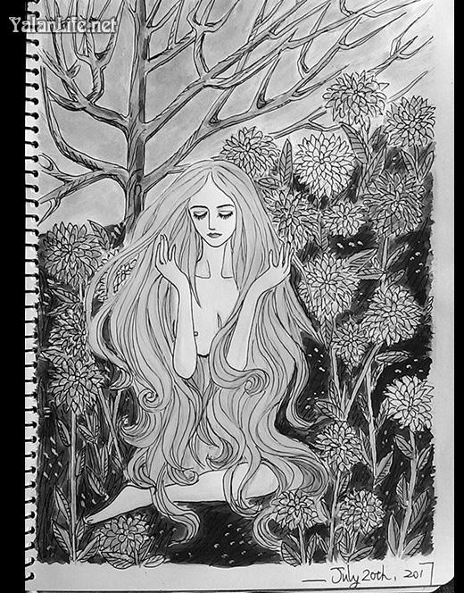 Taipei Life Art Illustration Watercolour Fairy Romanticism 台北生活 插画艺术 精灵仙女 水彩 浪漫主义 Yalan雅岚文艺博客